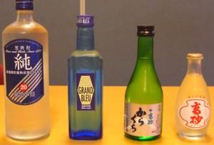 飲み物各種