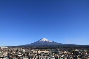 富士山とまち